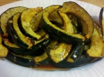 Roasted Acorn Squash with Chili-Garlic-Lime Vinaigrette