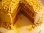 Pumpkin Caramel Layer Cake