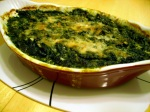 Creamy Baked Spinach