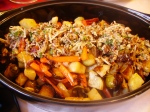 Winter Vegetables with Pecan Gremolata