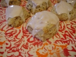 Lavender Walnut Scones