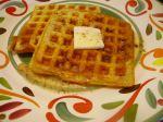 Whole Wheat Zucchini Waffles