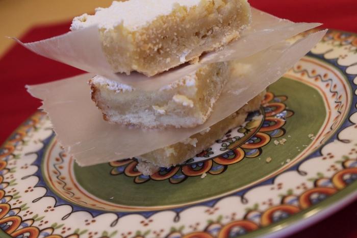 Buttermilk Pie Bars