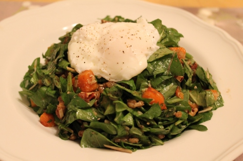Sweet and Salty Arugula Salad
