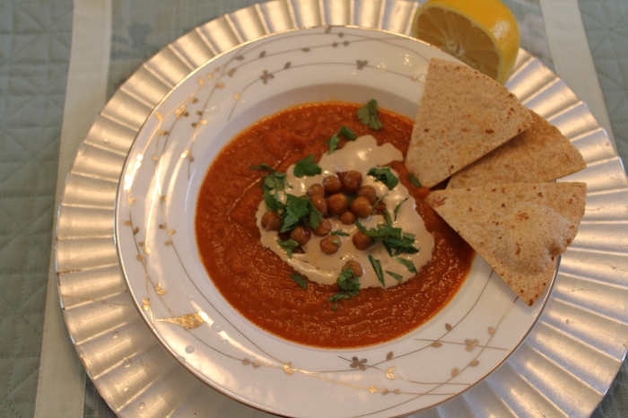 Carrot Soup with Tahini