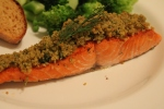 Dilly Crumb-Topped Salmon