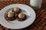 Fudgy Brownie Buckeye Cookies