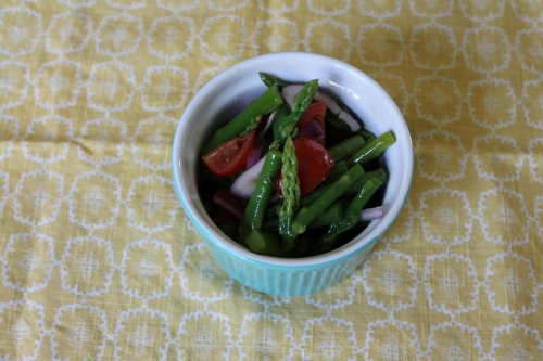 Asparagus Green Bean Salad