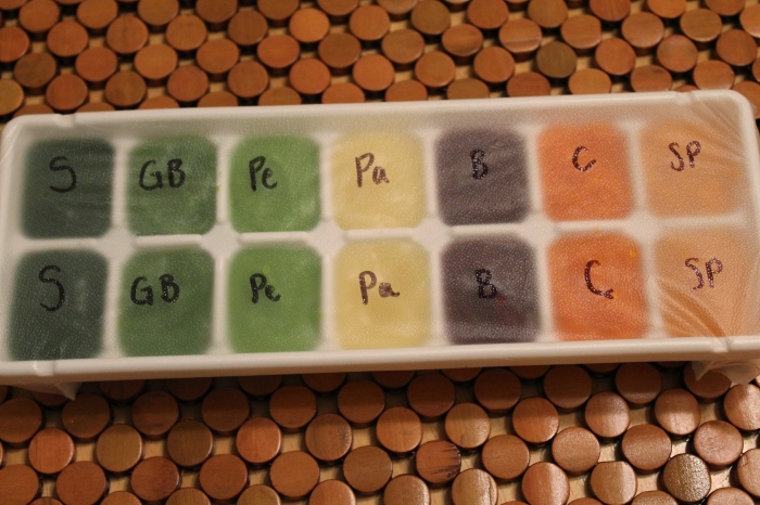 Jake's First Periodic Table