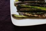 Sauteed Purple Asparagus