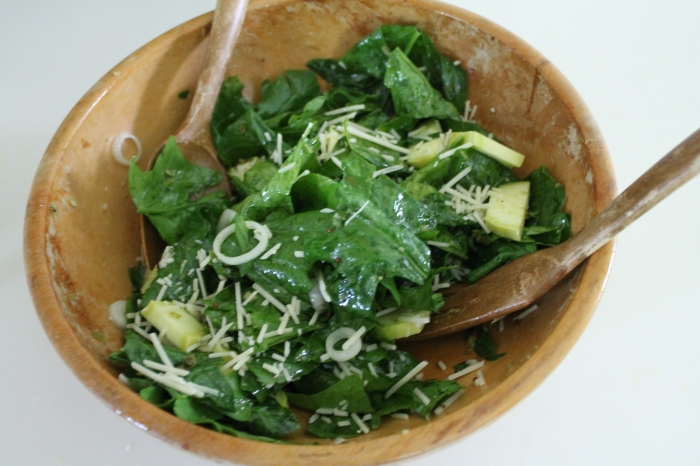 CSA Salad Deliciousness
