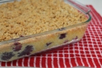 Blueberry-Cornmeal Buckle