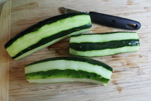 Striped Cucumbers