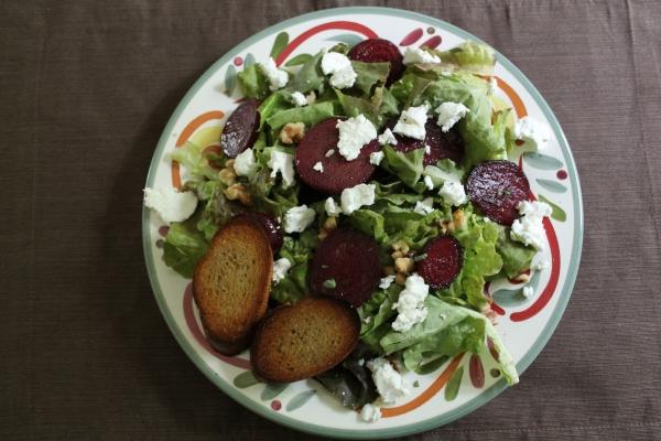Beet and Chevre Salad