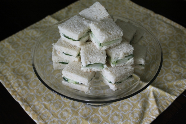 Stack of Tea Sandwiches