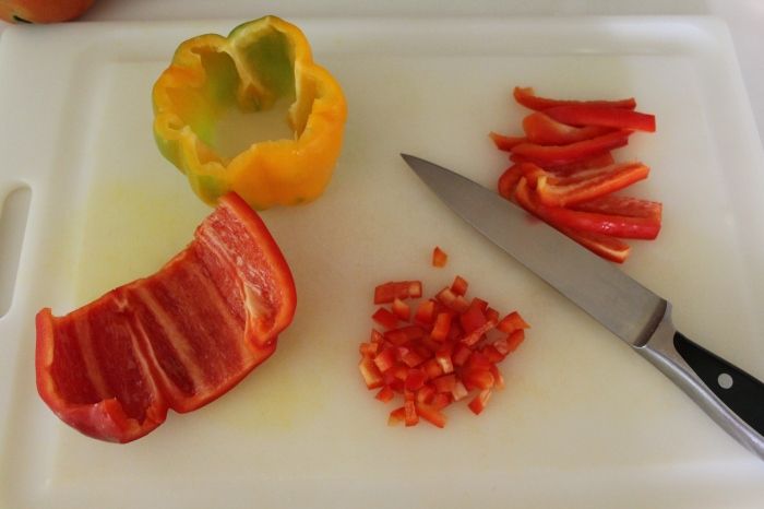 Dicing Peppers