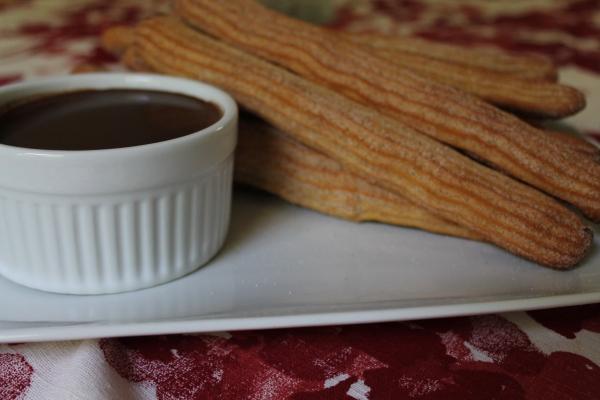 Churros for Dessert