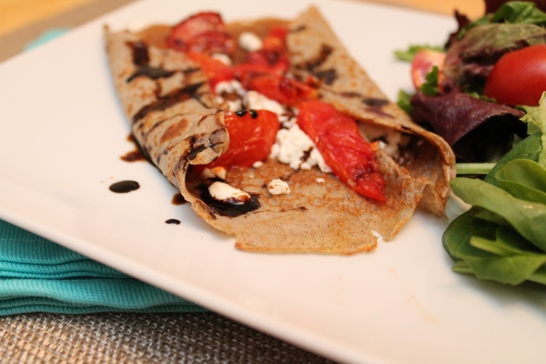 Roasted Tomato Buckwheat Galette