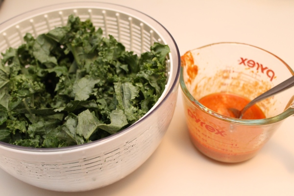 Kale and Miso-Curry