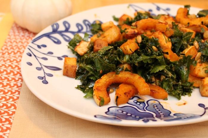 Miso-Curry Delicata Squash