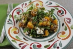 Butternut and Arugula Quinoa
