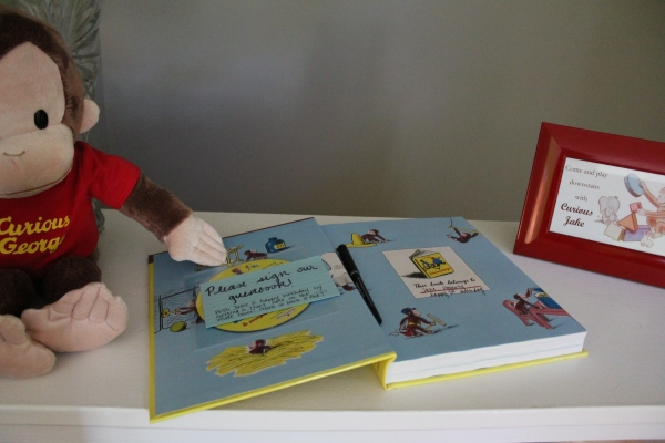 Curious George Guestbook