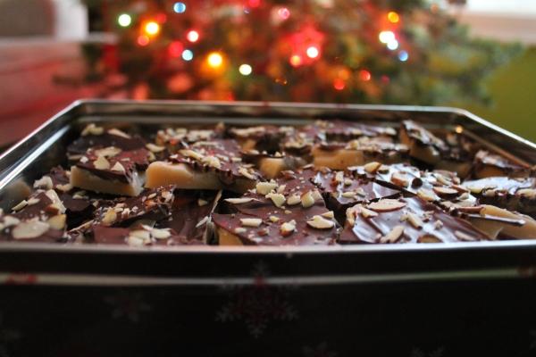 Christmas Toffee