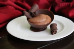 Chocolate Curls and Bowl, on Display