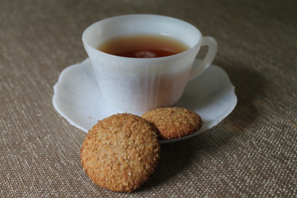 Honey Whole Wheat Cookies