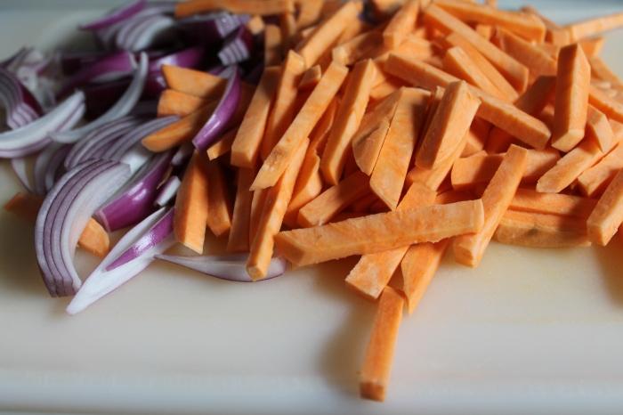 Matchstick Sweet Potatoes