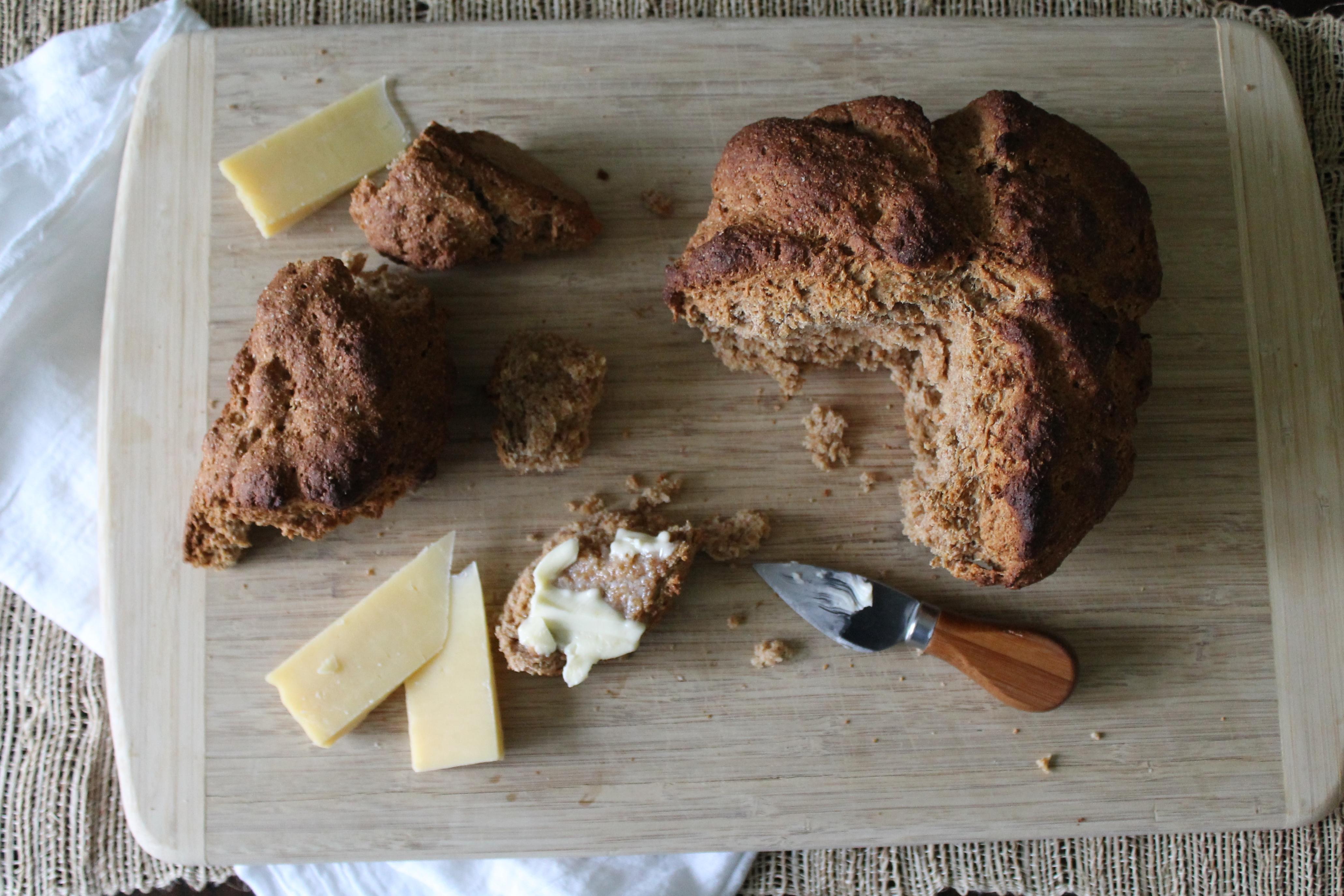 Irish Brown Soda Bread | Smells Like Brownies