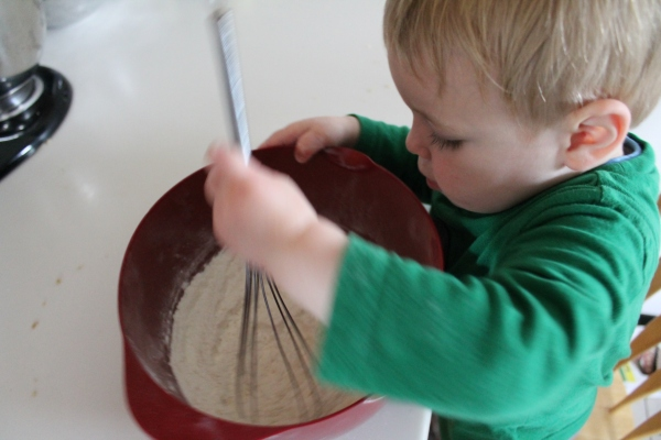 Whisking with Jake!