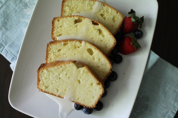 Drizzled Pound Cake