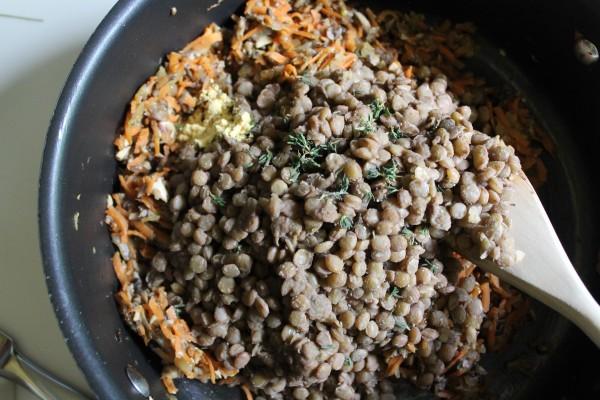 Lentils and Veggies
