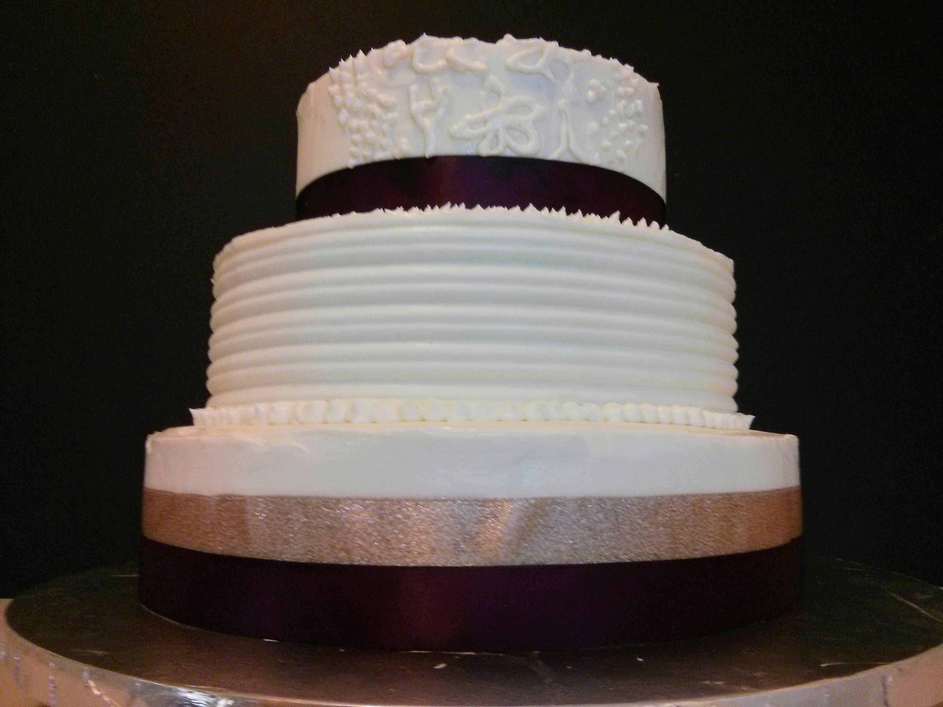how to make a brownie wedding cake