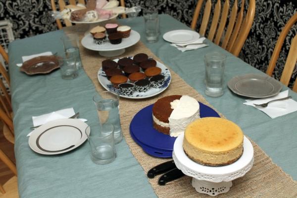 Massive Cake Tasting