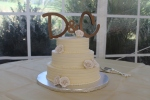Knight Wedding Cake