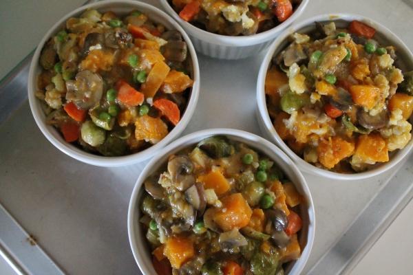 Veggie Pot Pie Filling