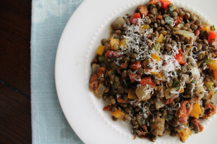 Lentil Salad with Walnuts and Herbs