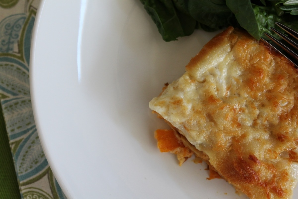Lasagna is Served