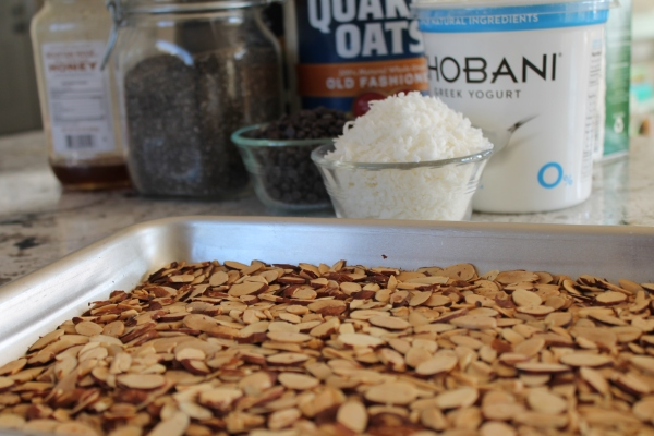Toasty Almonds