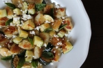 Homemade Gnocchi with Summer Squash, Basil, and Feta