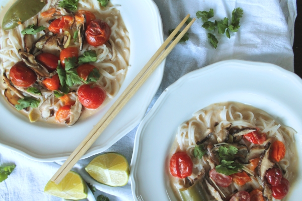 Lemongrass Coconut Noodles