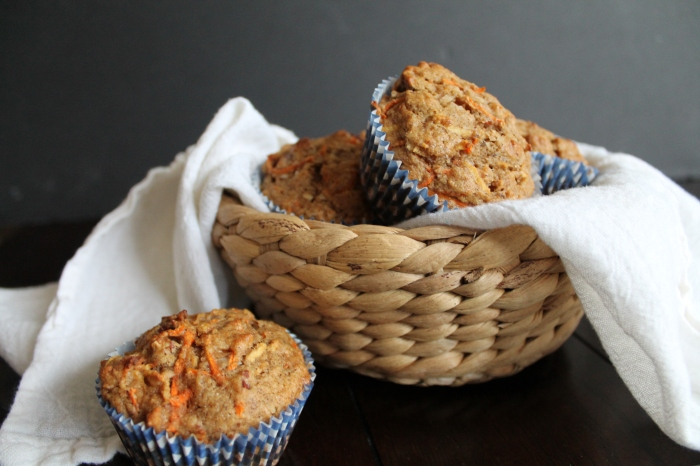 Morning Glory Carrot Muffins