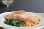 Prosecco-Poached Salmon
