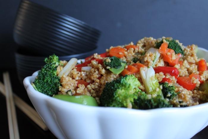Millet Vegetable Stir Fry