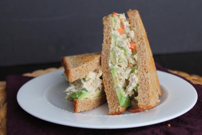 Wasabi Tuna Salad