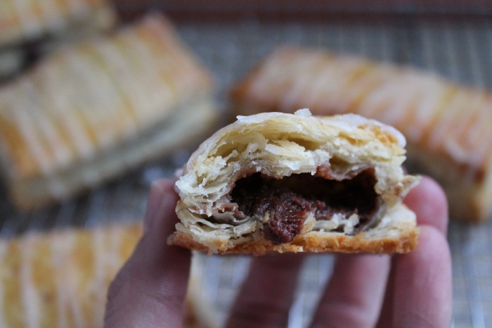 Nutella Breakfast Strudel