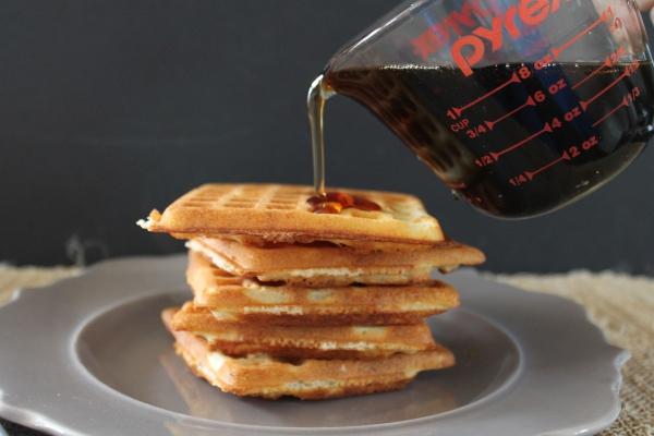 Warm Waffle, Warm Syrup