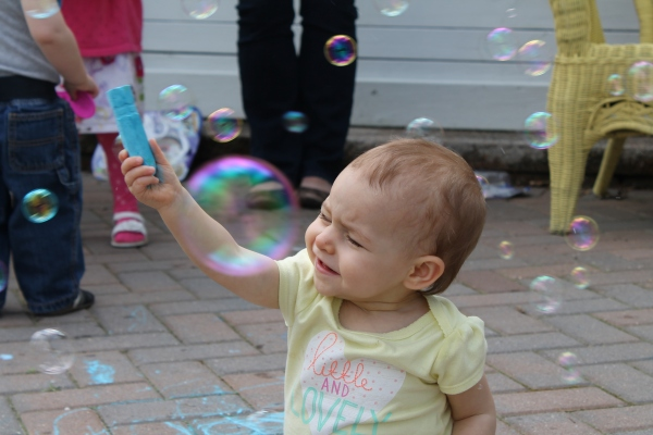 Chalk and Bubbles